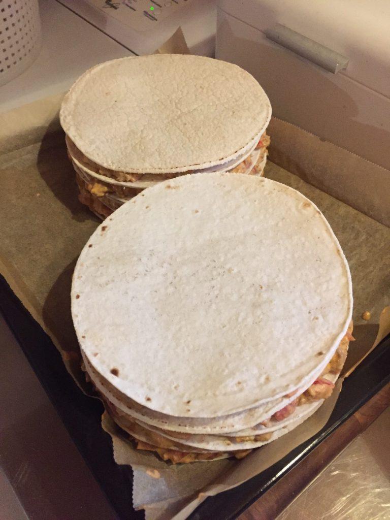 Paallimaiseksi taco-latty